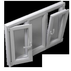 پنجره دوحالته بازشو Tilt & turn