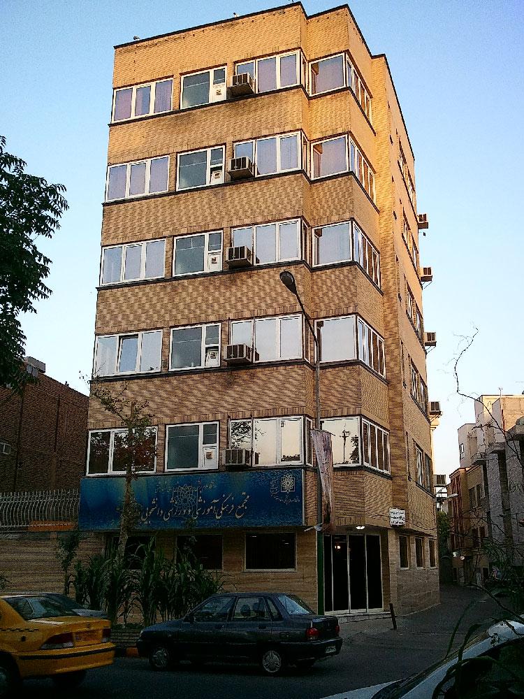 اجرای در و پنجره UPVC علوم پزشکی مشهد