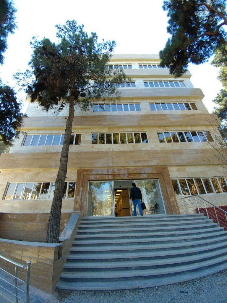 در و پنجره UPVC بیمارستان فیروزآبادی