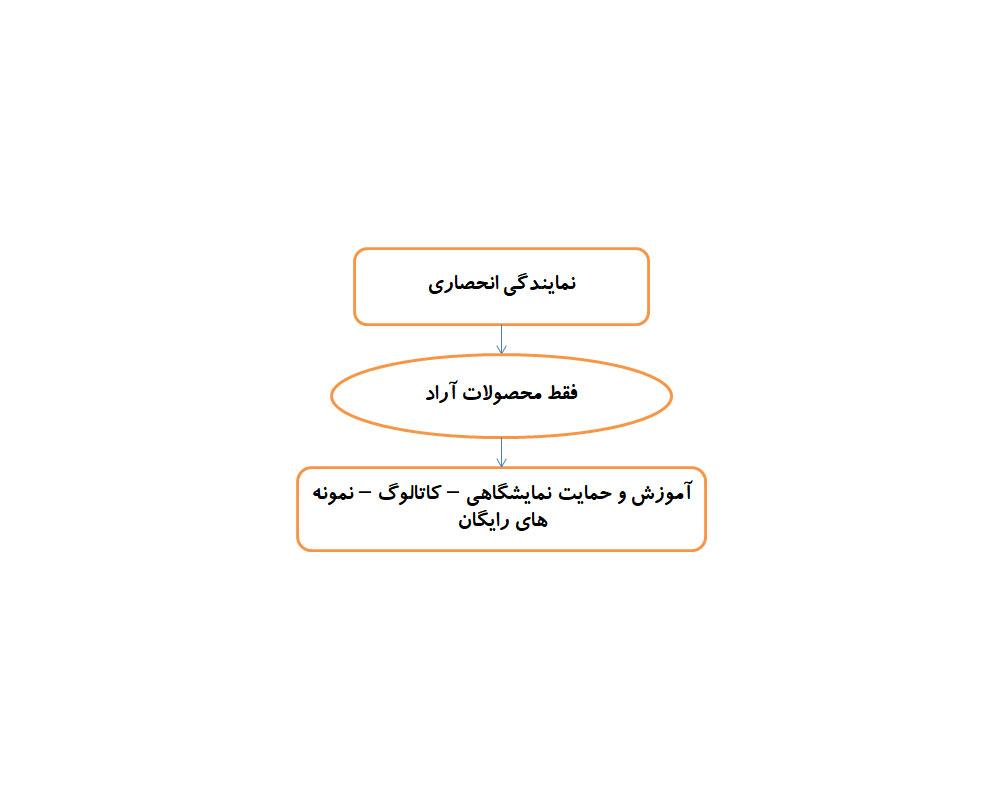 فرآیند های کاری - نمایندگی انحصاری