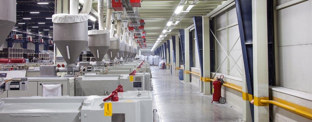 وین تک - کارخانه و خطوط تولید